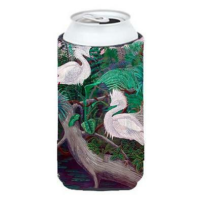 Carolines Treasures Bird Egret Tall Boy bottle sleeve Hugger 22 To 24 oz.