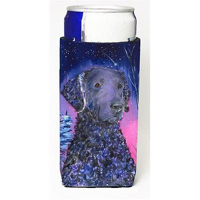 Starry Night Curly Coated Retriever Michelob Ultra bottle sleeves For Slim Ca...