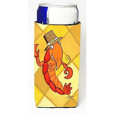 Crawfish Thanksgiving Michelob Ultra bottle sleeve for Slim Can