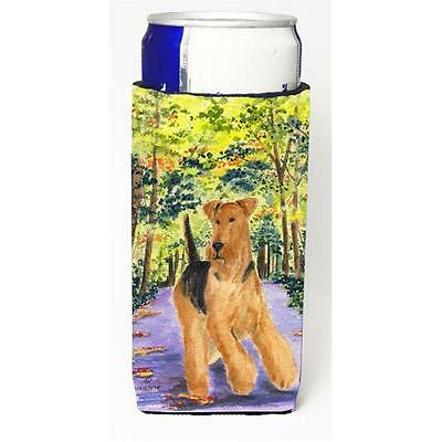 Carolines Treasures SS8208MUK Airedale Michelob Ultra bottle sleeve for Slim Can