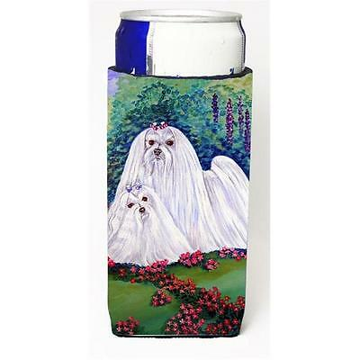 Maltese Momma And Puppy Michelob Ultra bottle sleeves For Slim Cans 12 oz. • AUD 47.47