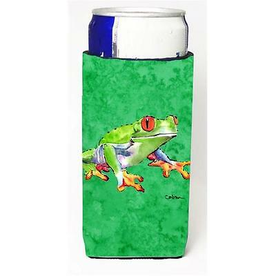 Green Tree Frog Michelob Ultra bottle sleeves For Slim Cans 12 oz.