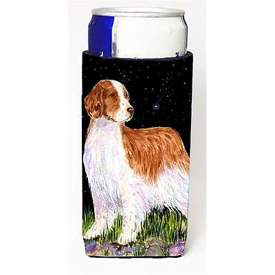 Starry Night Welsh Springer Spaniel Michelob Ultra bottle sleeves For Slim Ca...