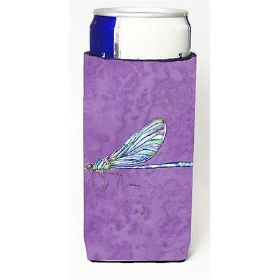 Dragonfly On Purple Michelob Ultra bottle sleeves For Slim Cans 12 oz.