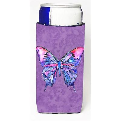 Butterfly On Purple Michelob Ultra bottle sleeves For Slim Cans 12 oz.