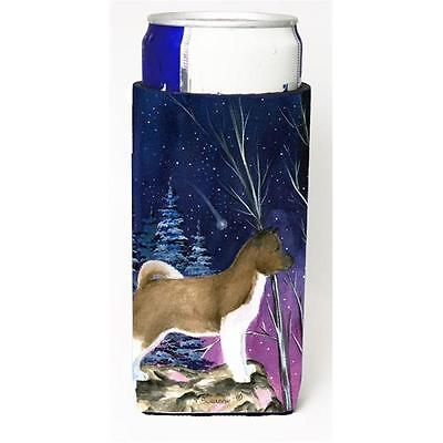 Starry Night Akita Michelob Ultra bottle sleeves For Slim Cans 12 oz. • AUD 47.47