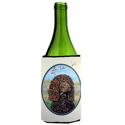 Carolines Treasures Irish Water Spaniel Wine bottle sleeve Hugger 24 oz.