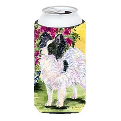 Carolines Treasures Papillon Tall Boy bottle sleeve Hugger 22 To 24 oz.