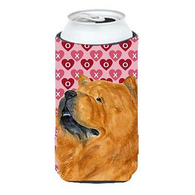 Chow Chow Hearts Love And Valentines Day Portrait Tall Boy bottle sleeve Hugger