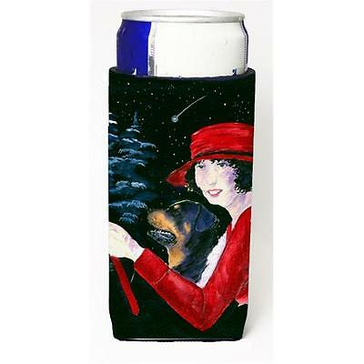 Lady Driving With Her Rottweiler Michelob Ultra bottle sleeves For Slim Cans ...