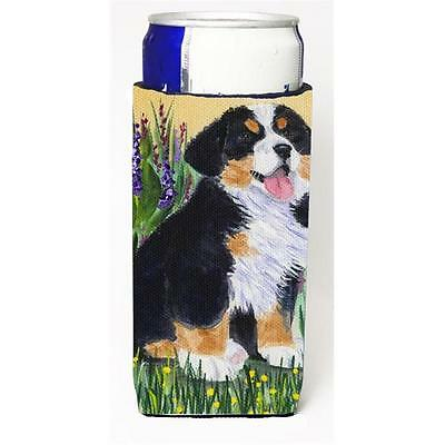 Bernese Mountain Dog Michelob Ultra bottle sleeve for Slim Can