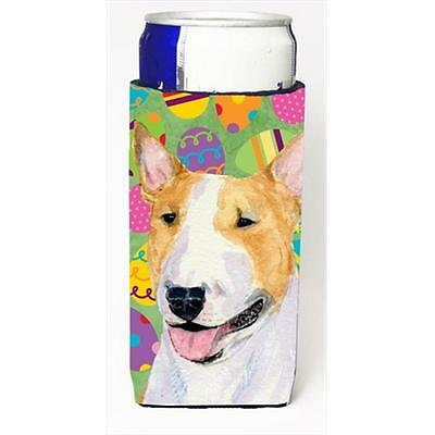 Bull Terrier Easter Eggtravaganza Michelob Ultra bottle sleeves For Slim Cans