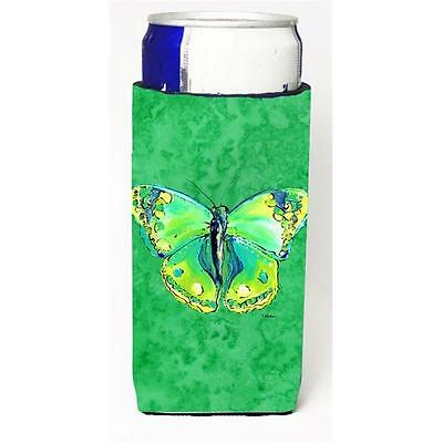 Butterfly Green On Green Michelob Ultra bottle sleeves For Slim Cans 12 oz.