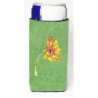 Gerber Daisy Orange Michelob Ultra bottle sleeves For Slim Cans 12 oz.