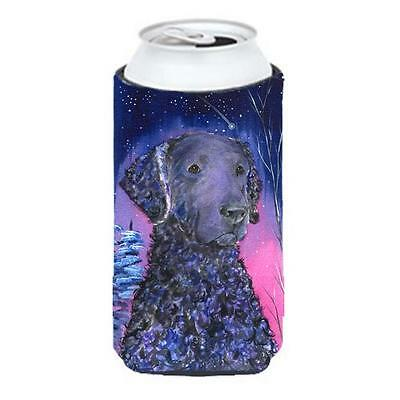 Starry Night Curly Coated Retriever Tall Boy bottle sleeve Hugger 22 To 24 oz.