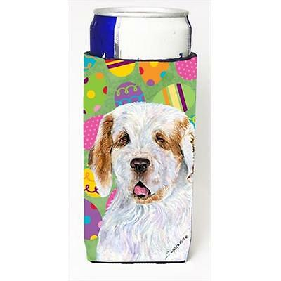 Clumber Spaniel Easter Eggtravaganza Michelob Ultra bottle sleeves For Slim C...