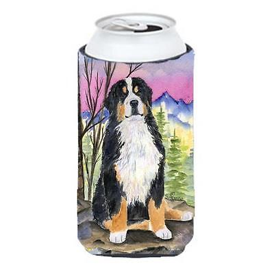 Bernese Mountain Dog Tall Boy bottle sleeve Hugger 22 To 24 oz.