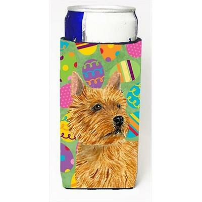 Norwich Terrier Easter Eggtravaganza Michelob Ultra bottle sleeves For Slim Cans