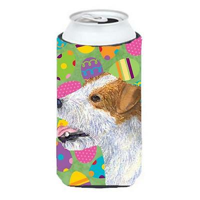 Jack Russell Terrier Easter Eggtravaganza Tall Boy bottle sleeve Hugger 22 To...