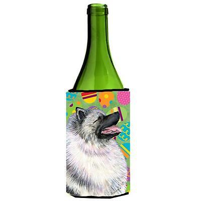 Carolines Treasures Keeshond Easter Eggtravaganza Wine bottle sleeve Hugger