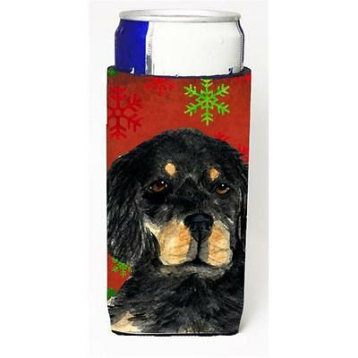 Gordon Setter Red Green Snowflakes Christmas Michelob Ultra bottle sleeves Fo...