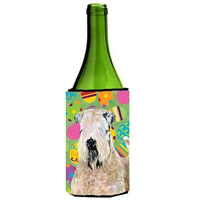 Wheaten Terrier Soft Coated Easter Eggtravaganza Wine bottle sleeve Hugger