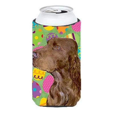Field Spaniel Easter Eggtravaganza Tall Boy bottle sleeve Hugger 22 To 24 oz.