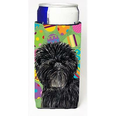 Affenpinscher Easter Eggtravaganza Michelob Ultra bottle sleeves For Slim Can...
