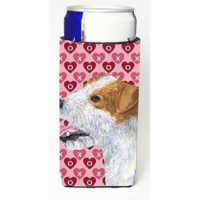 Jack Russell Terrier Hearts Love And Valentines Day Portrait Michelob Ultra b...