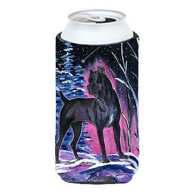 Carolines Treasures Starry Night Cane Corso Tall Boy bottle sleeve Hugger