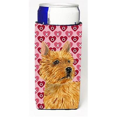 Norwich Terrier Hearts Love And Valentines Day Portrait Michelob Ultra bottle...