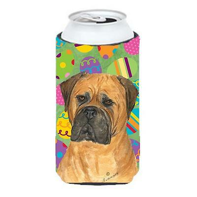 Bullmastiff Easter Eggtravaganza Tall Boy bottle sleeve Hugger 22 To 24 Oz.