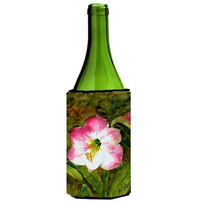 Carolines Treasures MM6053LITERK Flower Amaryllis Wine bottle sleeve Hugger
