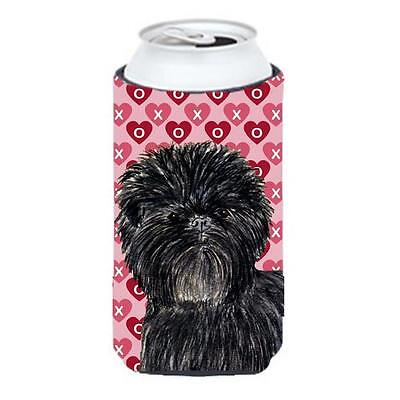 Affenpinscher Hearts Love And Valentines Day Portrait Tall Boy bottle sleeve ...
