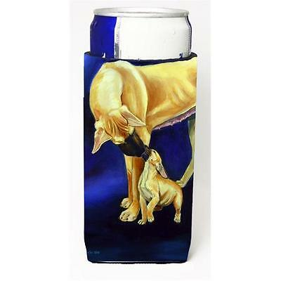Great Dane And Puppy Michelob Ultra bottle sleeves For Slim Cans 12 oz.