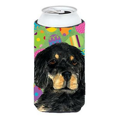 Gordon Setter Easter Eggtravaganza Tall Boy bottle sleeve Hugger 22 To 24 Oz.