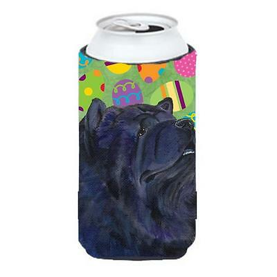 Chow Chow Easter Eggtravaganza Tall Boy bottle sleeve Hugger 22 To 24 Oz.