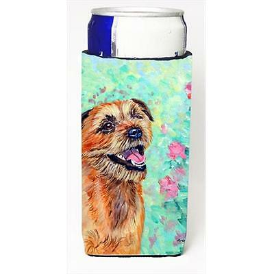 Carolines Treasures Border Terrier Michelob Ultra bottle sleeves For Slim Cans