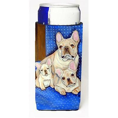 French Bulldog Mommas Love Michelob Ultra bottle sleeve for Slim Can