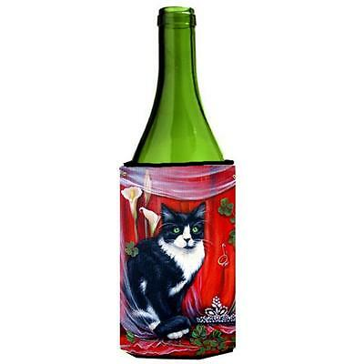 Carolines Treasures VLM1022LITERK Cat Wine bottle sleeve Hugger