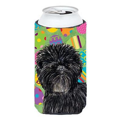 Affenpinscher Easter Eggtravaganza Tall Boy bottle sleeve Hugger 22 To 24 Oz.