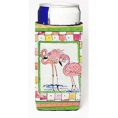 Pair Of Pink Flamingos Michelob Ultra bottle sleeves For Slim Cans 12 Oz.