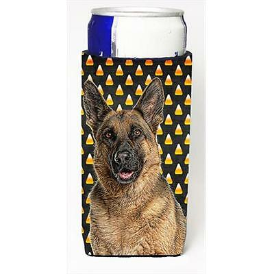 Candy Corn Halloween German Shepherd Michelob Ultra bottle sleeves for slim cans