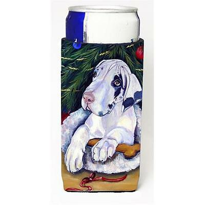 Christmas Tree With Harlequin Great Dane Michelob Ultra bottle sleeves For Sl...