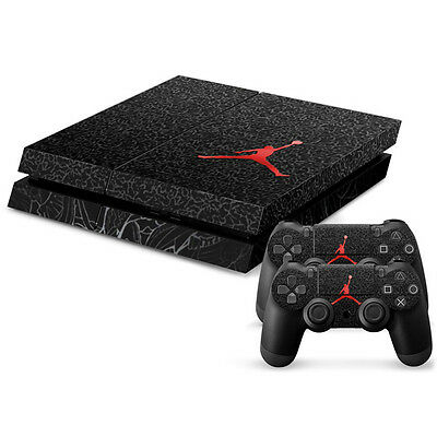 2281*NEW Full Body Decal Skin Sticker F PlayStation 4 PS4 Console+Controllers