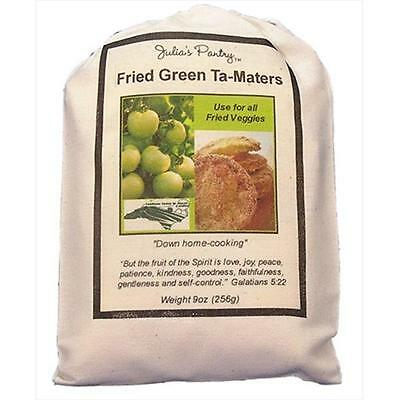 Julias Pantry JP620 Fried Green Ta-Maters Mix, 9oz Cloth, Pack of 4