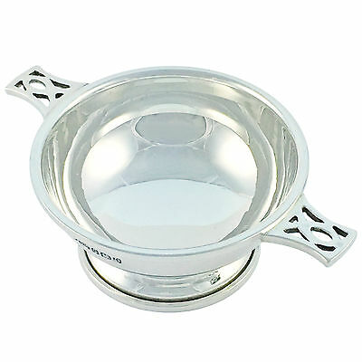 Quaich Dish, Solid Sterling Silver by Broadway & Co