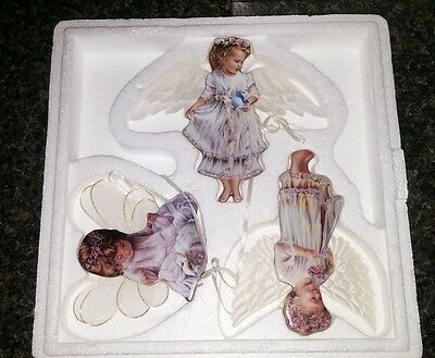 Heaven's Little Angels Ornaments - Bradford Editions - 1st 2nd 3rd No. AA3541