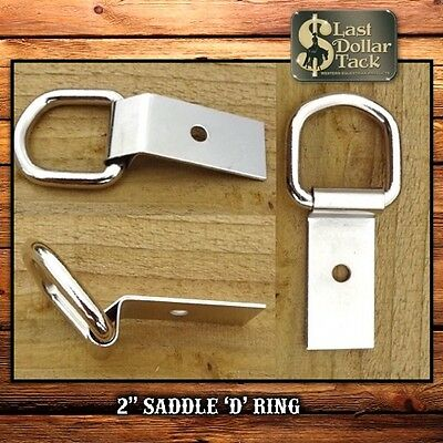 Replacement Stainless Steel Clip & Dee Ring For Western Saddles