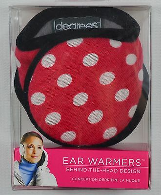 Degrees by 180s NEW Women's One Size (Fits Most) Polka Dot Ear Warmers